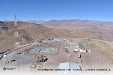 The Chilean mountaintop where the Giant Magellan Telescope will rise, as seen in May 2019.